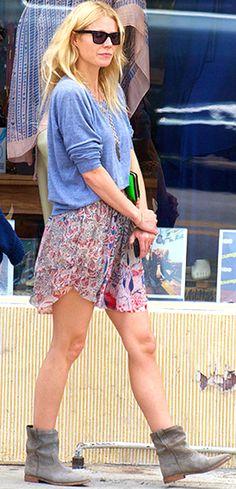 Gwyneth Paltrow style- Isabel Marant dress