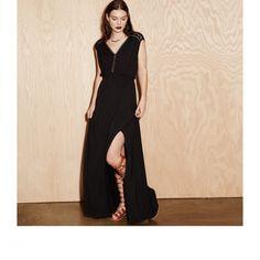 "Heartloom ""Astra"" Dress, Black #Maxi"