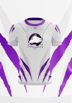 Jersey Design on Behance T Shirt Designs, New T Shirt Design, Tee Design, Jersey Designs, E Sport, Sport Wear, Sport Shorts, Sport T Shirt, Design Kaos