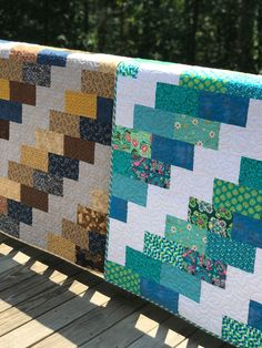Easy Quilt for Beginners   rachelmhayes