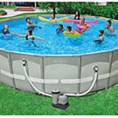 "Intex 22' x 52"" Ultra Frame Swimming Pool"