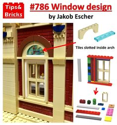 Lego Moc, Lego Lego, Lego Creative, Lego Building, Building Ideas, Lego Boards, Arched Doors, Lego Modular, Cool Lego Creations