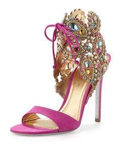 fuchsia shoes fashion trends 2015