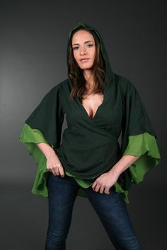 Flared sleeve wrap around TOP cardi with PIXIE ELF by Gekkoonline, lots of other stuff I really like