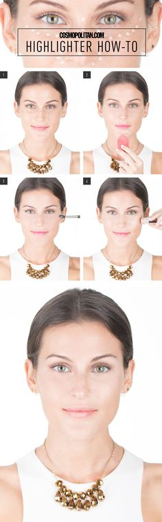 How to Apply Highlighter Flawlessly - Cosmopolitan.com