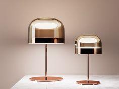 Metal table lamp EQUATORE | Table lamp by FontanaArte