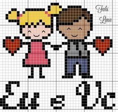 Tiny Cross Stitch, Cross Stitch Alphabet, Cross Stitch Patterns, Knitting Patterns, C2c, Perler Beads, Pixel Art, Embroidery, Fictional Characters