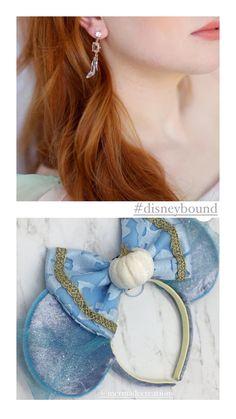 Disney cinderella earrings and disney princess inspiration Cinderella Disney, Disney Princess, Disney Earrings, Disney Bound, Disney Movies, Party Themes, Drop Earrings, Chic, Inspiration