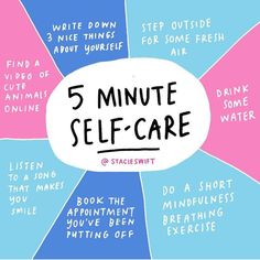 lookfantasticus Take 5 minutes out of every day for self care. You deserve it and your body/skin will thank you for taking care of it! (credit to Mental Health Matters, Mental Health Awareness, Quotes Thoughts, Stress, Self Care Activities, Self Care Routine, Coping Skills, Statements, Self Development