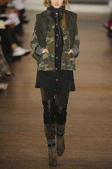 military-inspired, layered look from rag & bone.
