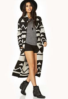 Well-Traveled Duster | FOREVER21 - 2000066003 love this huge sweater! want to wrap up in it