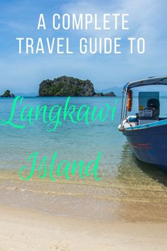 Langkawi Island, home to waterfalls, mangroves, lush forests and white sandy beaches; there's something here for everyone to enjoy. We've noted everything you need to know in our Travel Guide to Langkawi Island | Ravenous Travellers Travel Blog