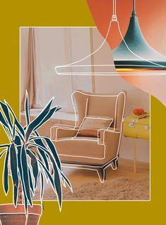 Do Mirrors Actually Make Small Spaces Seem Bigger? We Asked An Interior Designer Web Design, Page Design, Layout Design, Book Design, Cover Design, Graphic Design Posters, Graphic Design Inspiration, Inmobiliaria Ideas, Creation Image