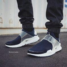 "Fragment Design x Nike Sock Dart ""Navy"""