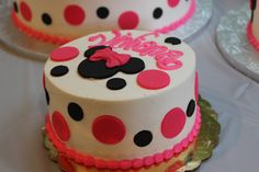 Minnie Mouse smash cake ... a mickey mouse clubhouse birthday