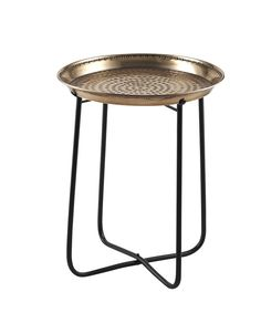moroccan copper tray table - Google Search