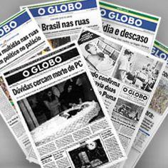 Acervo O Globo apresenta aos internautas 88 anos de notícias
