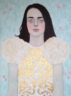 """Sophie II"" 18 x 24"" Oil on canvas Commission via Ugallery.com"