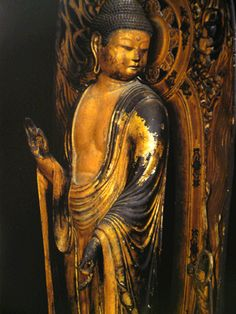 """The invariable mark of wisdom is to see the miraculous in the common.""    ~  Ralph Waldo Emerson  * This Buddha statute    <3 lis"