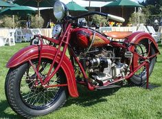 Vintage Indian Motorcycles