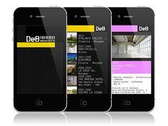 Finalmente online l'app per lo studio di architettura De8 ARCHITETTI!!!  realizzata in collaborazione con #spectacularch!     #de8architetti  http://bit.ly/17CDyTP