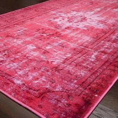 Damia Rug in Pink