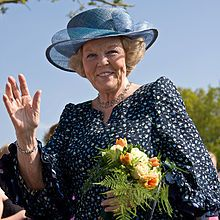 Beatrix of the Netherlands abdicates her throne 28 January 2013 in favour of her son, Willem-Alexander