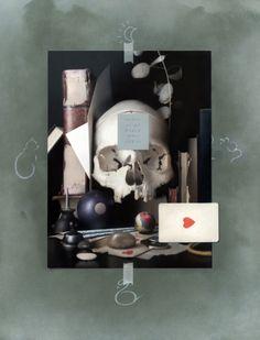 Pursuits (A Modern Vanitas) by Anthony Waichulis Vanitas Paintings, Still Life Artists, Eye Painting, T Art, Hyperrealism, Art Academy, Art Themes, Memento Mori, Color Of Life