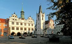 Litomerice, North Bohemia, Czechia Prague Spring, Czech Republic, Hungary, Cities, Beautiful Pictures, Castle, Street View, European Countries, Explore