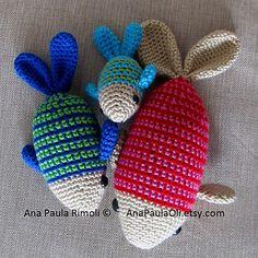 Amigurumi Fish X3! | $3.00 by Ana Paula Rimoli