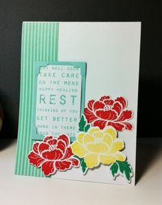 Amusing Michelle: Pretty Peonies Get Well