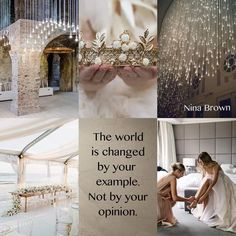 The world is changed by your example, not your opinion. Beautiful Collage, Beautiful Words, Beautiful Images, Life Is Beautiful, Happy Thoughts, Positive Thoughts, Meaningful Quotes, Inspirational Quotes, Quote Collage