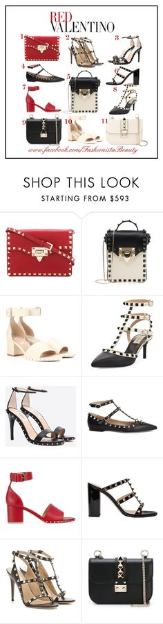 """""""Valentino Red 2017"""" by karen-foster-stewart on Polyvore featuring Valentino and RED Valentino"""