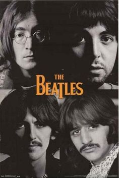 A great poster of The Beatles - John Lennon, Paul McCartney, George Harrison, Ringo Starr - in the White Album days! Check out the rest of our FABulous selection of Beatles posters! Need Poster Mounts. Foto Beatles, Beatles Poster, Beatles Love, Les Beatles, Beatles Photos, John Lennon Beatles, Beatles Guitar, John Lennon Albums, Beatles Band