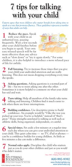 Great tips to help your stuttering child gain more confidence. By The Stuttering Foundation.   Great how they help parents and teachers, but also the students themselves!