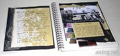 How to create & keep an art journal (starting, collage & color basics, materials, sewing, gesso, writing tips, travel journal)