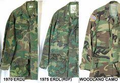 Camo changes before digital. Army & Navy, Us Army, Usmc, Marines, Camo Gear, Border Guard, Army Gears, Army Infantry, Vietnam War Photos