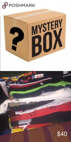Mystery Box ReSell Bundle Men s Clothing S-XXL ReSell Clothing Bundle Box  Men s Lots of Value! Limited to only 5 boxes for the 1st run. 3d235bfe19e1b