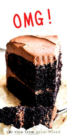 Ina Garten's Chocolate Cake recipe ~ it's a classic! When I hear the word dessert, this homey, rich, chocolatey cake is what springs to mind. Everybody should make it at least once. #easy #recipe #cake #chocolatecake #inagarten #barefootcontessa #layercake Amazing Chocolate Cake Recipe, Best Chocolate Cake, Chocolate Desserts, Summer Desserts, Just Desserts, Delicious Desserts, Recipe Tin, Icing Recipe, Sweet Recipes