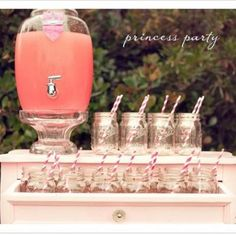 Modern Princess Birthday {Girl Party Theme and Decor Ideas}