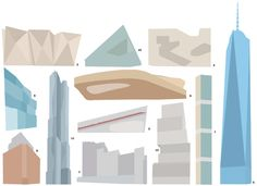 Over the past decade, the city skyline has been transformed. How many of these buildings do you recognize?