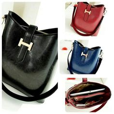 Kode: AFC101 Warna: black, red, sapphire blue Bahan: kulit pu Harga: 212rb Ukuran : 30x26x13 cm
