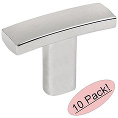 """Cosmas 2363CH Polished Chrome Subtle Arch Cabinet Hardware Handle Knob 1-7/16"""" Overall Length - 10 Pack Cosmas http://www.amazon.com/dp/B016P8CUP8/ref=cm_sw_r_pi_dp_mi2Zwb0NT7KYJ"""
