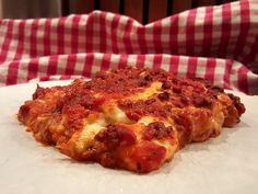Echte Italiaanse lasagne met bechamelsaus