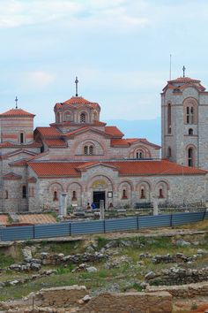 Monastère de Saint-Pantaleimon, Ohrid, Macédoine. #Macedonia #travel #roadtrip #church