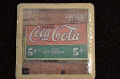 Coaster Coca Cola by TheCoasterMan on Etsy, $8.00