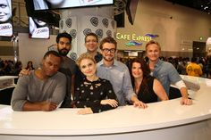 The cast and producers of #iZombie at Comic-Con® 2015! #CWSDCC