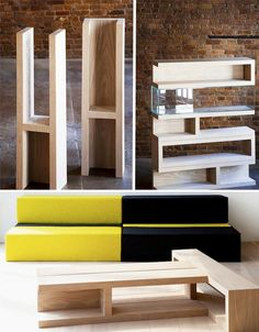 ZIG: Modular Furniture Lets You Build to Suit Your Space