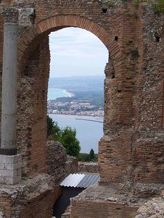 Taromina, Sicily Sicily is a beautiful lyrical place. #taormina #sicilia #sicily
