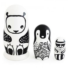 Limited Edition Russian Dolls by Wee Gallery